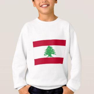 レバノンの旗 スウェットシャツ