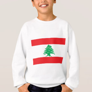 レバノンの旗-レバノンのعلملبنانの旗 スウェットシャツ