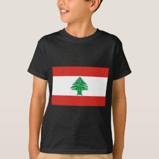 レバノンの旗 Tシャツ