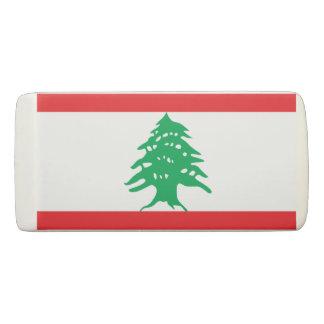 レバノンの消す物の旗 消しゴム