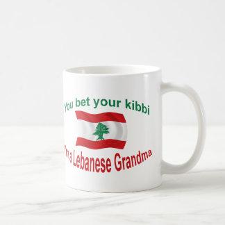 レバノンの祖母-あなたのKibbiを賭けて下さい コーヒーマグカップ