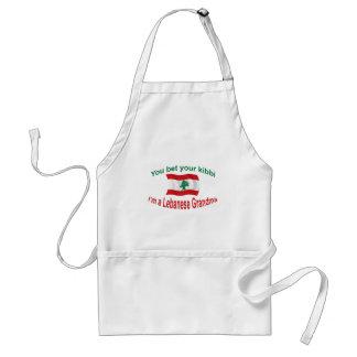 レバノンの祖母-あなたのKibbiを賭けて下さい スタンダードエプロン