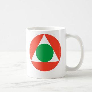 レバノンの空軍Roundel コーヒーマグカップ