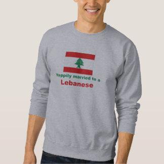 レバノン人に幸福に結婚した スウェットシャツ