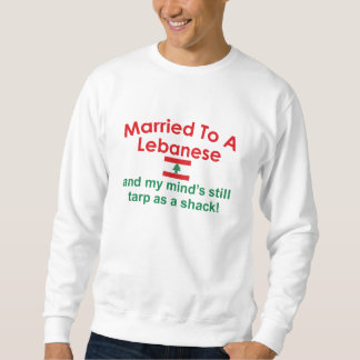 レバノン人に結婚した スウェットシャツ