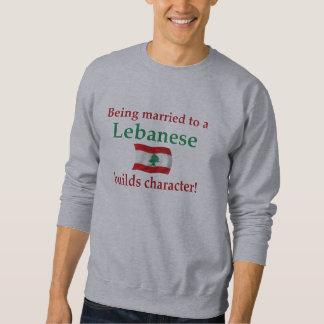 レバノン人はキャラクターを造ります スウェットシャツ
