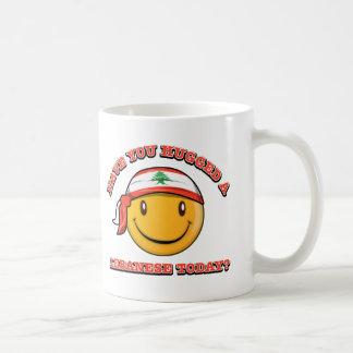 レバノン人を今日抱き締めましたか。 コーヒーマグカップ