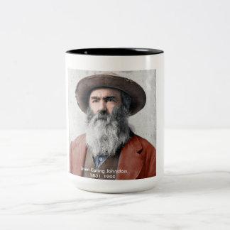 レバー食べ物のジョンソンのコーヒー・マグ ツートーンマグカップ