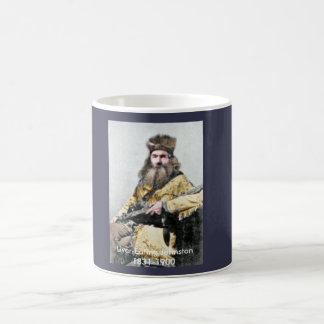 レバー食べ物ジョンソンが付いているコーヒー コーヒーマグカップ