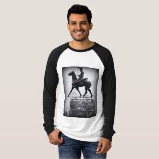 レバー食べ物ジョンソンの伝説に名誉を与えること Tシャツ