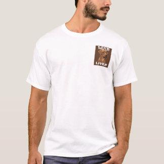 レバーRidgebackゆっくり進られた及び軽いWheaten項目 Tシャツ