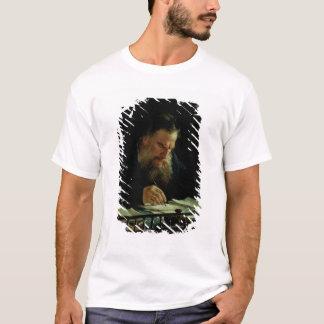 レフTolstoyのポートレート Tシャツ
