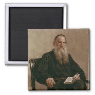 レフTolstoy 1887年 マグネット