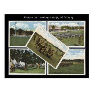 レプリカのヴィンテージのトレーニング・キャンプピッツバーグ ポストカード