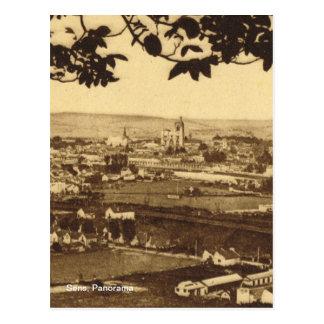 レプリカのヴィンテージ、Sensのパノラマ ポストカード