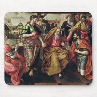 レベッカがアイザック1562年と結婚することができるを頼んでいるEliezer マウスパッド