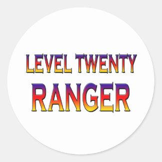 レベル20のレーンジャー ラウンドシール