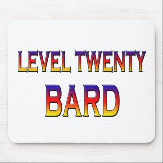 レベル20の楽師 マウスパッド