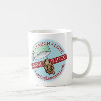 レミングのマグの跳躍 コーヒーマグカップ