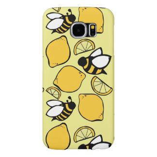 レモネードのための蜂そしてレモン SAMSUNG GALAXY S6 ケース