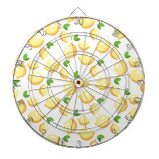 レモネード-甘く黄色いレモンプリント--を作って下さい ダーツボード