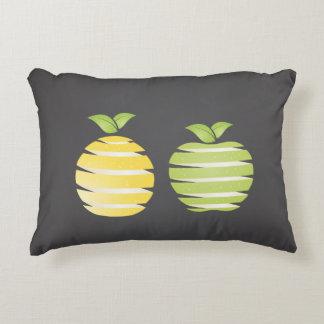 レモンおよびりんご アクセントクッション
