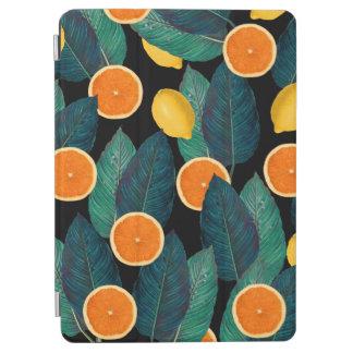 レモンおよびオレンジの黒 iPad AIR カバー