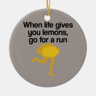 レモンは操業行きます セラミックオーナメント