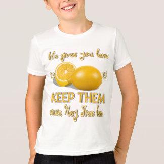 レモンを保存して下さい Tシャツ