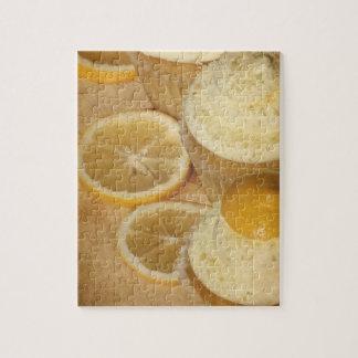 レモンカップケーキのパズル ジグソーパズル