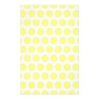 レモンシャーベットの水玉模様 便箋