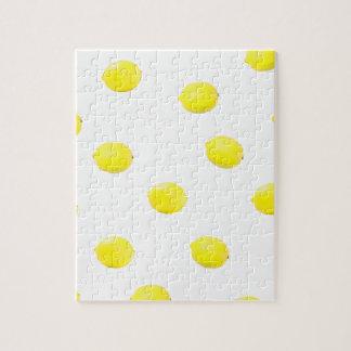 レモンパターンバージョン2 ジグソーパズル