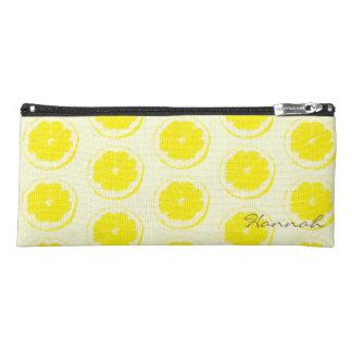 レモンパターン ペンシルケース
