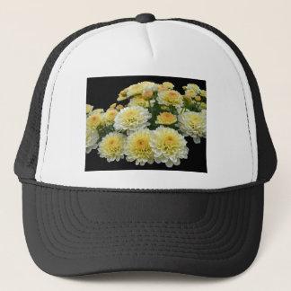 レモンメレンゲの菊 キャップ