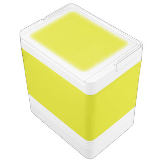 レモンライムの黄色(無地のでフルーツのような色)の~ イグルークーラーボックス