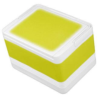 レモンライムの黄色(無地のでフルーツのような色)の~ クールボックス
