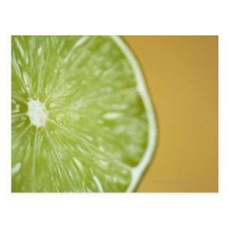 レモン切れのクローズアップ ポストカード