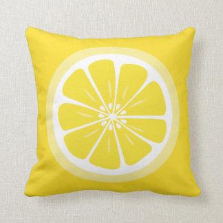 レモン切れの夏のおもしろいの装飾用クッション クッション