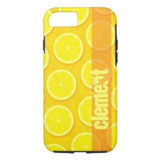 レモン切れの明るく黄色い一流のiphoneの箱 iPhone 8/7ケース