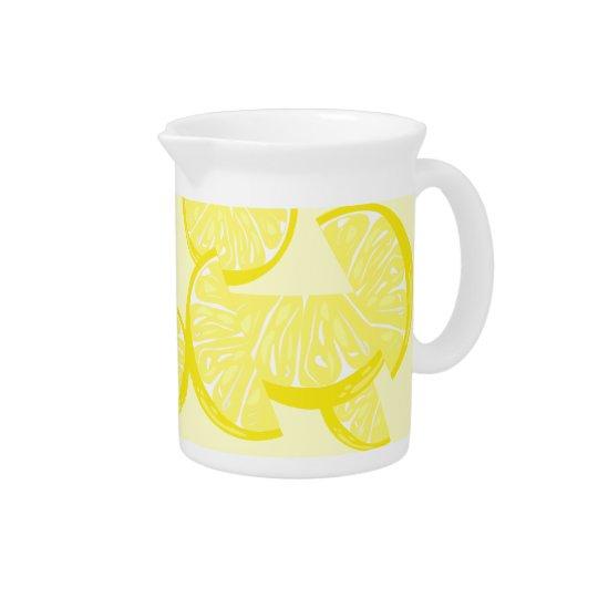 レモン切れの水差し ピッチャー