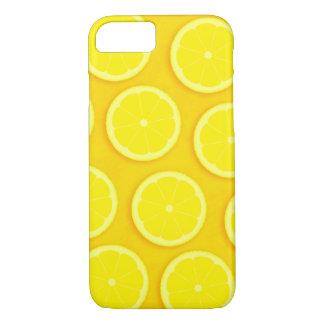 レモン切れの黄色の写実的なiphoneの場合 iPhone 8/7ケース