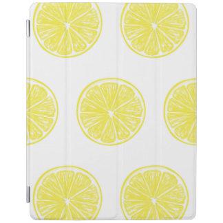 レモン切れパターンデザイン iPadスマートカバー
