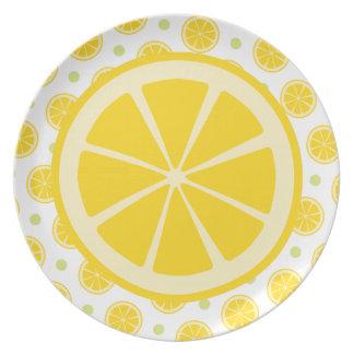 レモン切れ プレート