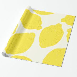 レモン包装紙 ラッピングペーパー