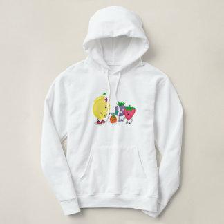 レモン援助のデザインのスエットシャツ パーカ