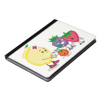 レモン援助のデザインのiPad 2/3/4のフォリオの場合 iPadケース