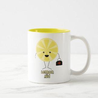 レモン援助 ツートーンマグカップ