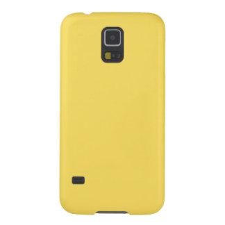 レモン熱心の無地のSamsungの銀河系S5の箱 Galaxy S5 ケース