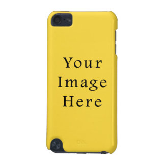 レモン熱心明るく黄色い色の傾向のテンプレート iPod TOUCH 5G ケース