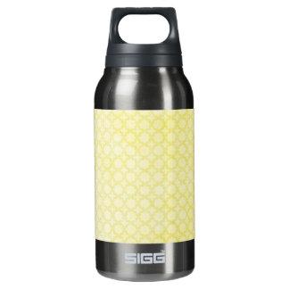 レモン色のかわいらしいパターン 断熱ウォーターボトル
